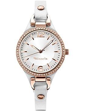 Tamaris Damen-Armbanduhr Virginia Analog Quarz Leder B02215001