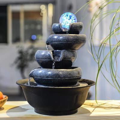 SPYXGS Einfache Geometrische Figur Hause Feng Shui Ball Handwerk Büro Desktop Ornamente Brunnen Mädchen Geschenk D -