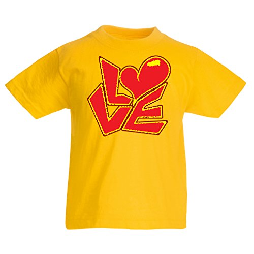 funny-t-shirts-for-kids-love-quotes-i-love-you-gifts-5-6-years-yellow-multi-color
