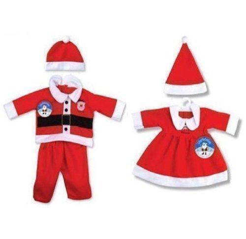Kleinkind Baby Kostüm Weihnachten Santa Outfit Verkleidung Kostüm (Bis Größe 92 Mädchen Santa Kleid)