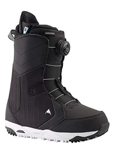 Burton Damen Limelight Boa Snowboard Boot, Black, 9.0