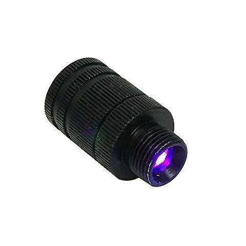 Safari Choix Unisexe Ht-tp101poulies Optic LED Sight lumière Filetage ajustement universel, Noir, 3/8–32