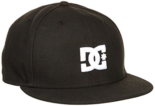 dc-shoes-empire-gorra-de-hombre-negro-negro-talla7-1-8-568-cm