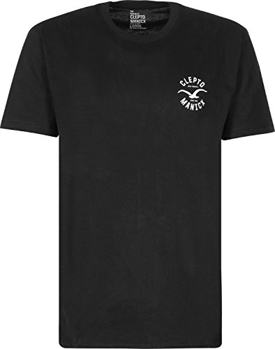 Cleptomanicx Herren T-Shirt Black