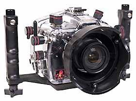 Ikelite UW-Gehäuse ohne Port für Nikon D 70 Ikelite Port
