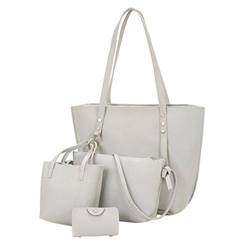 FitfulVan Clearry heißes Verkauf ! Leder Umhängetasche mit Muster Damen + Kreuz Tasche + Tasche + Geldbeutel ()