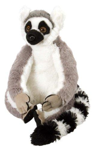 (Wild Republic Plüsch Ringelschwanz Lemur, Cuddlekins Kuscheltier, Plüschtier, 30cm)