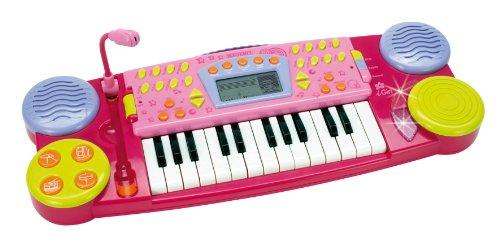 Preisvergleich Produktbild Bontempi MK2571 - Girl Keyboard mit Mikrofon und 25 Tasten