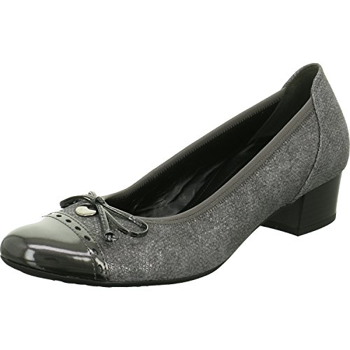 Gabor Damen Comfort Fashion Pumps Braun (63 fumo/Steel)