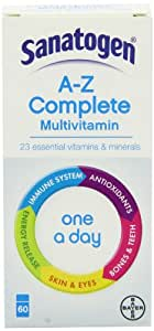 Sanatogen A-Z Complete One-a-day 60 Tablets