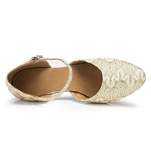 Miyoopark ,  Damen Tanzschuhe Gold-6cm heel