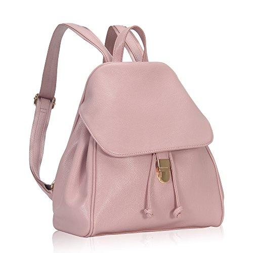 Imagen de veevan  bolso de escuela de las mujeres del bolso de la muchacha de piel sintética rosa  alternativa