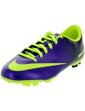 Nike Jr Mercurial Victory IV FG lila/neon gelb