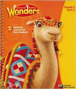 McGraw-Hill Reading: Wonders, Grade 3, Unit 1, Teacher's Edition, Common Core by Dr. Diane August (2014-11-05)