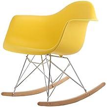 chaise bascule rtro hnnhome inspire par eames - Chaise A Bascule Eames