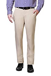 Peter England Slim Fit Trouser _PTF31602365_30_Beige