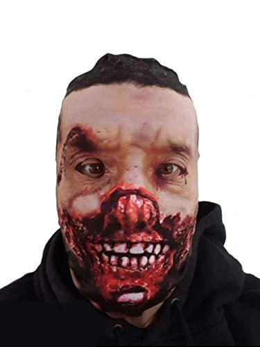 Stinkyface verrotten Zombie realistisch Bedruckte Lycra Full Head -