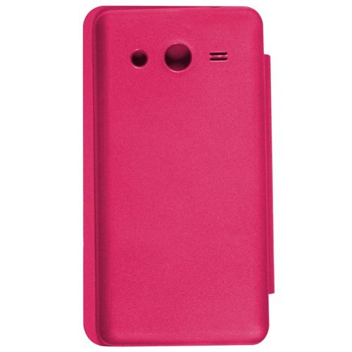Casotec Premium Flip Case Cover for Samsung Galaxy Core 2 G355H – Pink