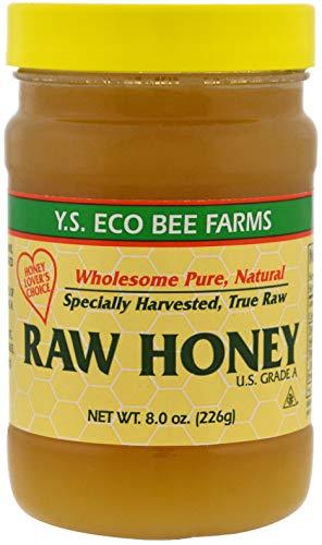 Y.S Eco Bee Farms Raw Honey USA Grade A.-8.0 oz (226 g)