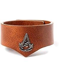 Assassin's Creed Unity Grain Cuff Armband, aus braunem PU-Leder