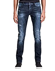 JACK & JONES Herren Slim Fit Jeans Ge 149 50sps blau W 32 L 32