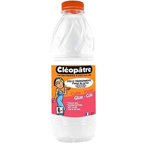 Cléopâtre ct1l- ricarica di colla trasparente in bottiglia, 1kg