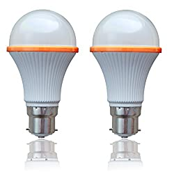 Syska LED SSK 15 Watts Unbreakable Bulb (Pack of 2, Cool Day Light) Made in Korea