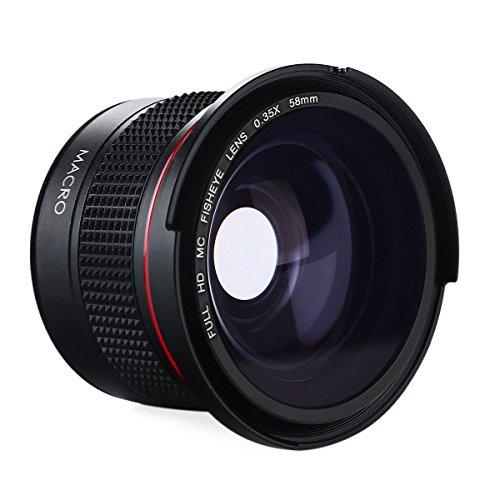 K&F Concept 58MM Fisheye 0.35X HD Ultra