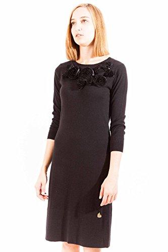 LOVE MOSCHINO W S 78R 01 X 0863 Kurtzes Kleid Damen schwarz C74
