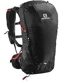3326dc408e Salomon L37997100, Zaino Leggero da Escursionismo 30 l Peak 30 Unisex  Adulto, Nero/
