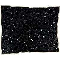 100% Kaschmir gewebte decke bedruckt mit Wildlederkante. 140 x 190 cm
