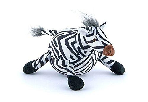P.L.A.Y. Pet Lifestyle and You - SAFARI - PLÜSCH SPIELZEUG FÜR HUNDE UND KATZEN - Zebra (Zebra-plüsch-spielzeug)