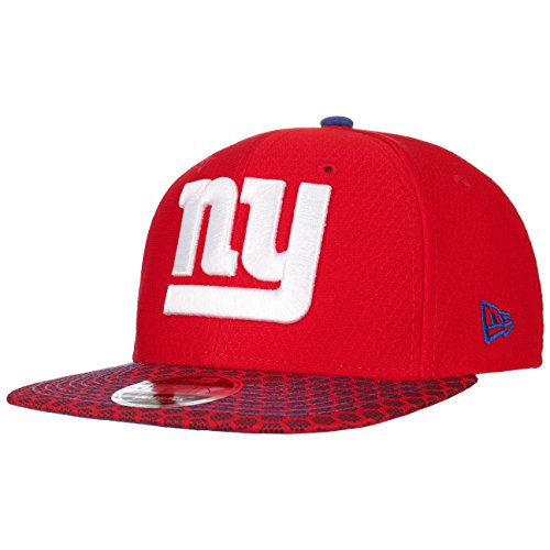 b2f93a08eff52a New Era NFL NEW YORK GIANTS Authentic 2017 Sideline 9FIFTY Snapback Game Cap,  Größe: