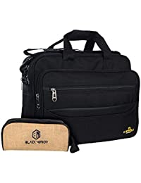 AS Grabion Polyester Messenger Bag, 20 (01mgasgblack, Black)
