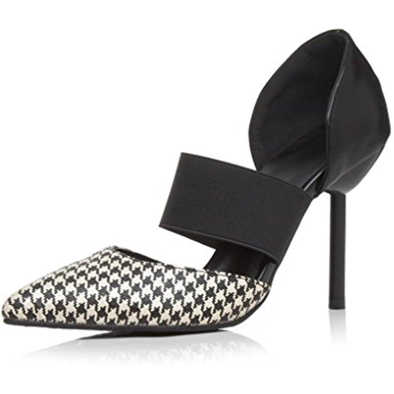 OALEEN Escarpins Sexy Femme Talon Haut Aiguille - Bride Elastique Chaussures Soirée T.32-43 - Aiguille B071KBF7FY - e5faf3