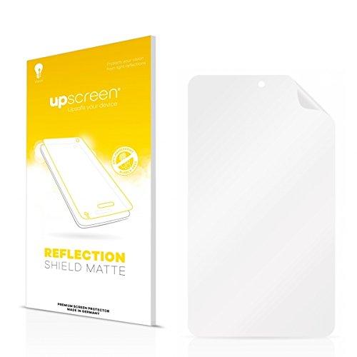 upscreen Reflection Shield Matte Bildschirmschutz Schutzfolie für irulu eXpro X1S (8.1) Plastic Rear (matt - entspiegelt, hoher Kratzschutz)