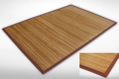 Alfombra de bambú JMC005en diferentes tamaños–10modelos más en Amazon tienda de flash Trade., 120 x 170 cm