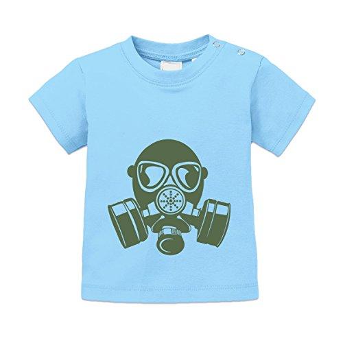 Gasmaske Baby T-Shirt by Shirtcity (Biohazard Gasmaske)