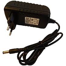 vhbw 220V cargador 7W (10V/0.7A) para LEGO® Transformador 8887, PS-605-02, 9693 pila, MINDSTORMS® NXT, batería Box, 243008878, 243009693.