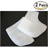 EQLEF®2 Paar Silikon-Gel-Kissen-Auflage-Absatz-Liner Schutzkissen Fußpflege Heel Schild Fuß Schutz Heel Socks preisvergleich bei billige-tabletten.eu