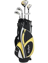 MACGREGOR Tourney - Juego completo de palos de golf ( paquete, híbrido ) , talla 3-5 YRS