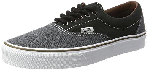 Vans Era, Scarpe Running Uomo, Nero (Black/blackt/h), 40 EU