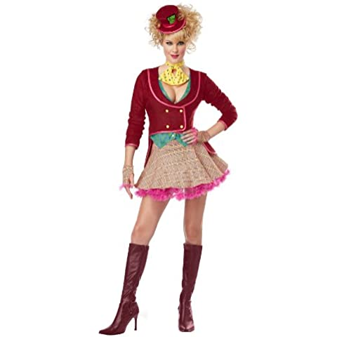 Womens Mad Hatter Costume - Large
