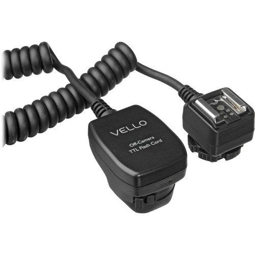 Vello TTL Off Camera Flash Cord for Canon EOS 1.5'