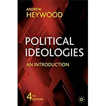 Political Ideologies: An Introduction by Heywood, Andrew (April 19, 2007) Paperback