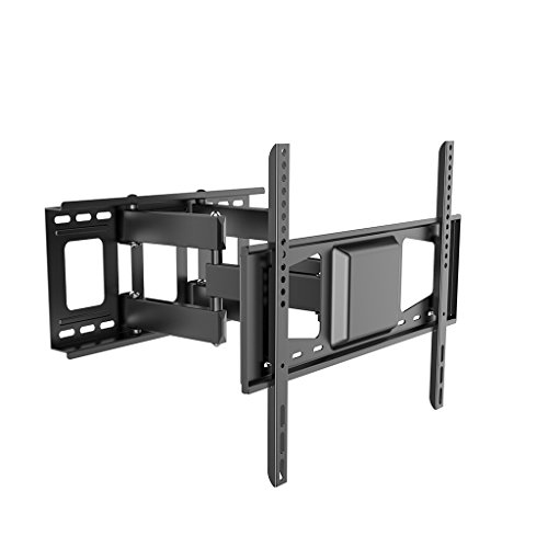 Liutao (32-70) Zoll-TV-Rack verdicken TV-Ständer drehbare Teleskop-Wand hängen Rahmen 55/60/65 Zoll (Color : Black, Größe : 40 * 40cm)
