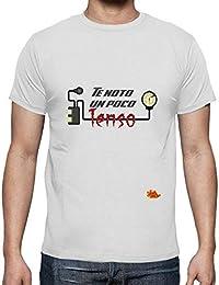 latostadora - Camiseta Te NOTO un Poco Tenso para Hombre