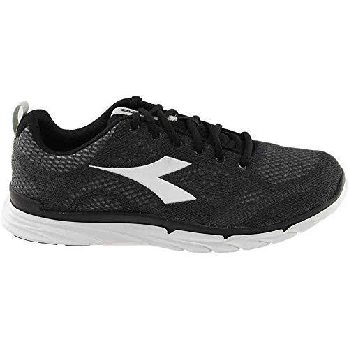 Jogging Nj Trama Corsa Da Scarpe Fare Diadora 303 Sneaker Uomo Superwhite Nere Scarpe Nero wqqXga