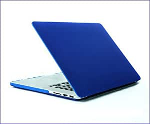 "Bingsale® Retina 13-Inch Matte Hard Case Cover for Apple MacBook Pro 13.3"" with Retina Display A1425 (NEWEST VERSION Release October 2012) (Colour: Marine Blue, Baby Blue,Rosa,Purple,Red, Yellow, Grey, Green,Black, Transparent) (Marine Blue)"