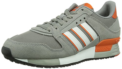 adidas ZX 630, Unisex-Erwachsene Sneakers Grau (Ch Solid Grey / Running White / Collegiate Orange)